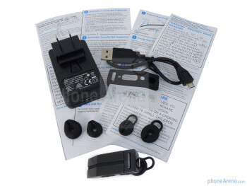 BlueAnt T1 package and contents - BlueAnt T1 Review