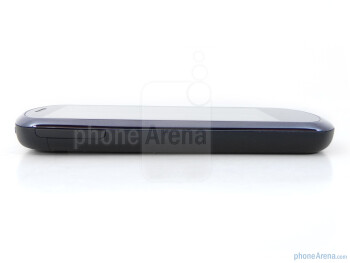 The sides of the Huawei IDEOS X5 - Huawei IDEOS X5 Preview