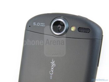 The back of the Huawei IDEOS X5 - Huawei IDEOS X5 Preview
