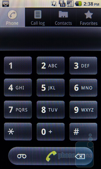 Dialer - Huawei IDEOS X5 Preview