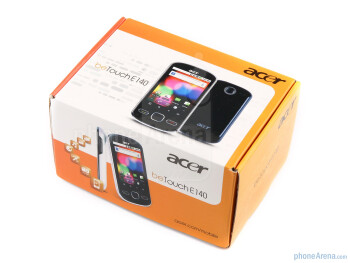 Acer beTouch E140 Review