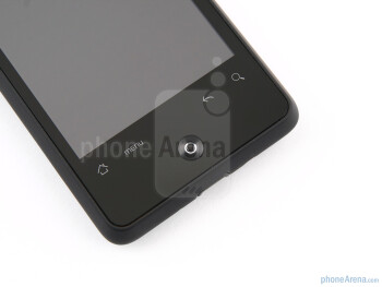 "The 3.2"" capacitive LCD display of the HTC Gratia - HTC Gratia Review"