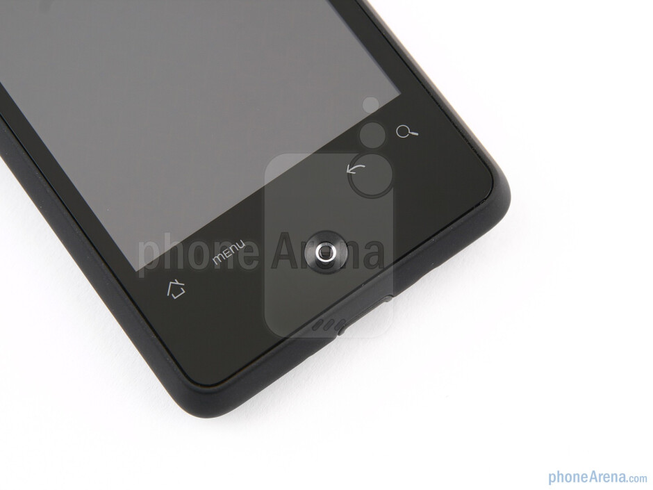 """The 3.2"""" capacitive LCD display of the HTC Gratia - HTC Gratia Review"""
