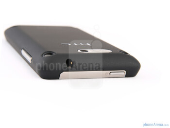 The sides of the HTC Gratia - HTC Gratia Review