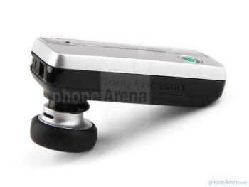The Sony Ericsson HBH-PV720 has a rectangular body, slightly curved around the edges, very elegant and pleasing to the eye - Sony Ericsson HBH-PV720 Review
