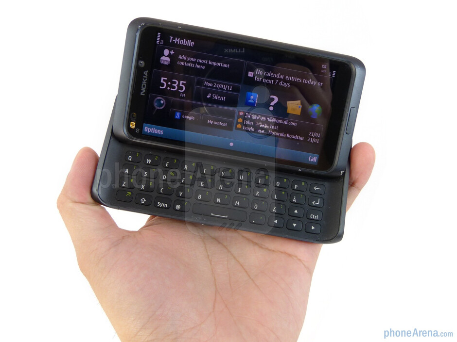 The Nokia E7 is meticulously well built all around - Nokia E7 Preview