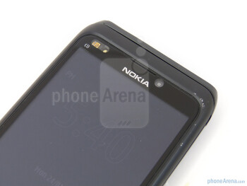 Front-facing camera - Nokia E7 Preview