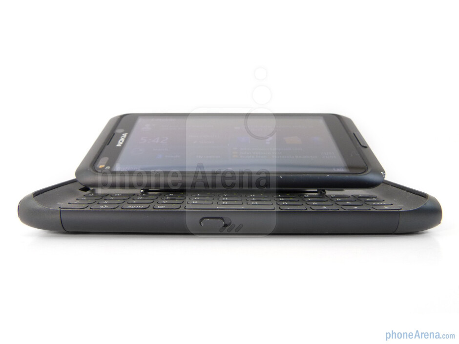 The keyboard mechanism is extremely satisfying - Nokia E7 Preview