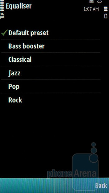 Music player - Nokia E7 Preview