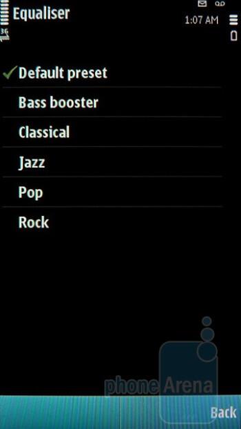 Music player - Nokia E7 Preview