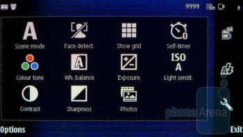 Camera interface - Nokia E7 Preview