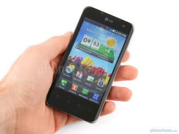 The LG Optimus 2X feels very solid when held - LG Optimus 2X Review