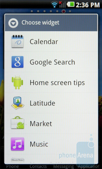 The interface of the LG Optimus 2X - LG Optimus 2X Review