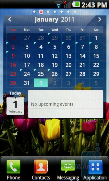 Calendar - LG Optimus 2X Review
