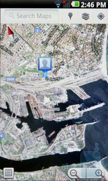 Google Maps 5.0 - LG Optimus 2X Review