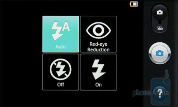 Camera interface - LG Optimus 2X Review