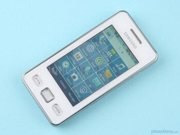 The Star II has a 3.0-inch touchscreen - Samsung Star II Preview