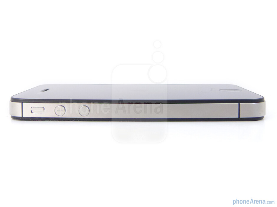 The sides of the Verizon iPhone 4 - Verizon iPhone 4 Review