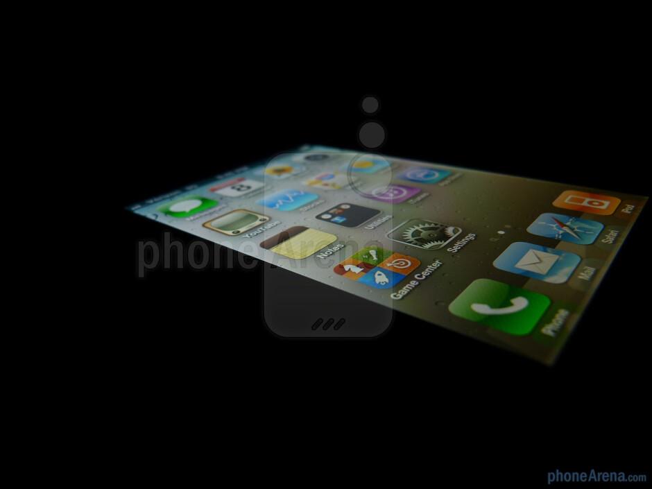 The Retina Display of the Verizon iPhone 4 - Verizon iPhone 4 Review