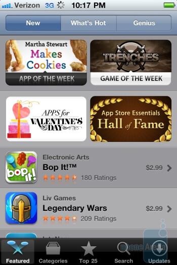 App Store - Verizon iPhone 4 Review