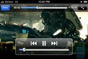Video playback on the Verizon iPhone 4 - Verizon iPhone 4 Review