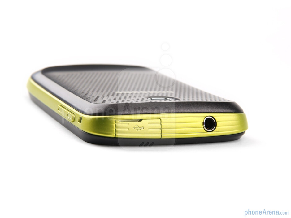 The sides of the Samsung GALAXY mini - Samsung GALAXY mini Preview