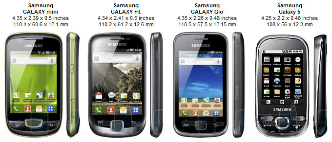 Samsung GALAXY mini Preview