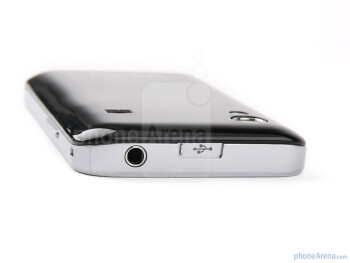 The sides of the Samsung GALAXY Ace - Samsung GALAXY Ace Preview
