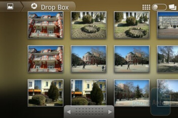 The Gallery app - Samsung GALAXY Ace Preview