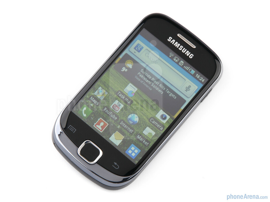 This phone sports a 3.3-inch capacitive screen - Samsung GALAXY Fit Preview