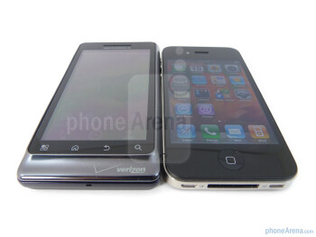 Verizon iPhone 4 vs DROID 2 Global