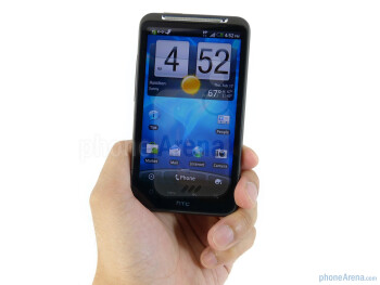 The unibody aluminum exterior of the HTC Inspire 4G  is exciting to hold - HTC Inspire 4G Review