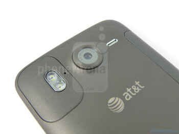 The back of the HTC Inspire 4G - HTC Inspire 4G Review