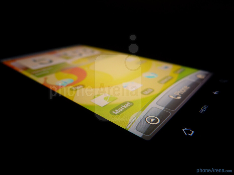 Viewing angles - HTC Inspire 4G Review