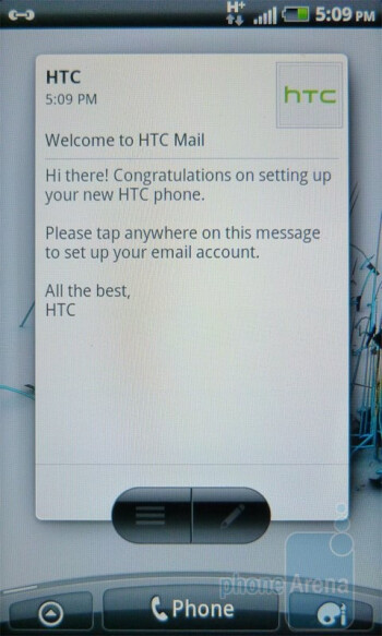 Mail - HTC Widgets - HTC Inspire 4G Review