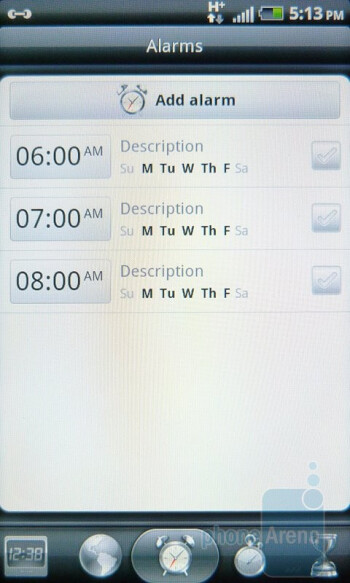 Organizer tools of the HTC Inspire 4G - HTC Inspire 4G Review