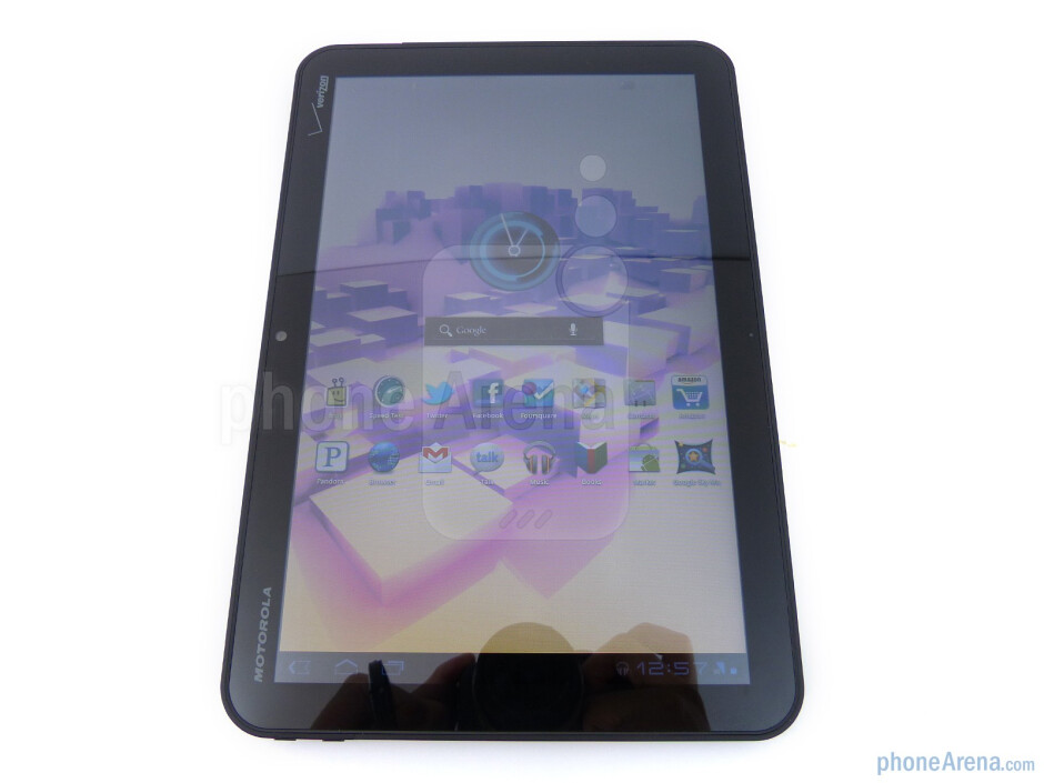 The tablet has a 10.1 inch LCD capacitive display - Motorola XOOM Review