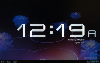 The Clock app - The Calendar app - Motorola XOOM Review