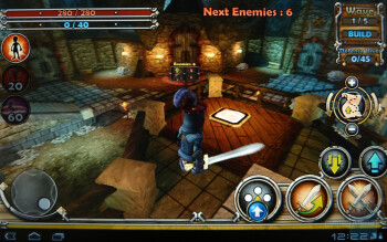 Dungeon Defenders - Motorola XOOM Review