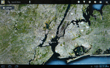 Google Maps - Motorola XOOM Review