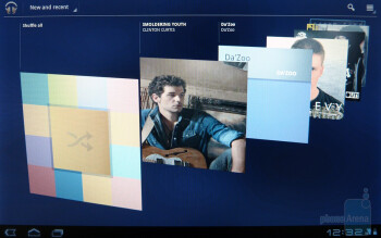 The stock music player in Honeycomb - Apple iPad 2 vs Motorola XOOM