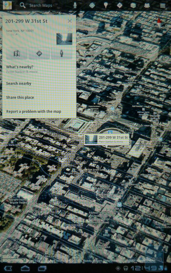 Google Maps on the Motorola XOOM - Apple iPad 2 vs Motorola XOOM