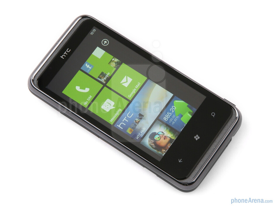 The smartphone has a 3.6 inch capacitive LCD screen - HTC 7 Pro Review