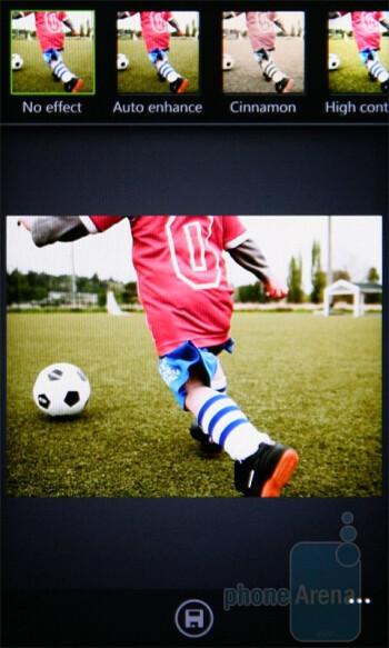 Photo Enhancer app - HTC 7 Pro Review