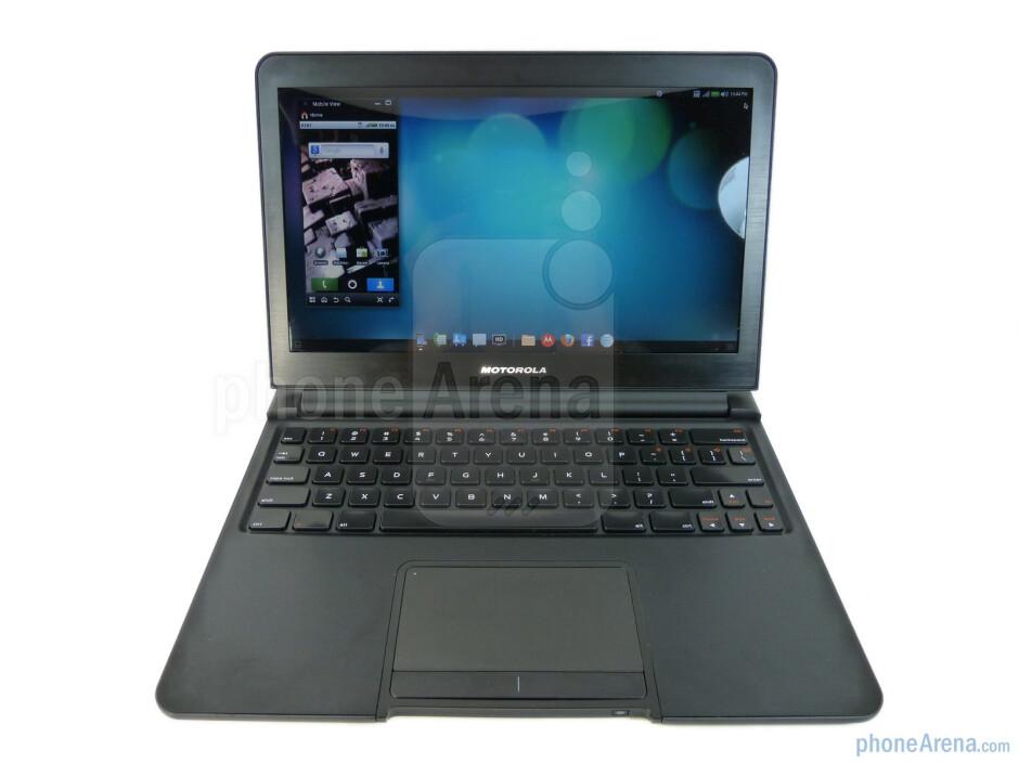 Motorola's webtop interface - Motorola ATRIX 4G Laptop Dock Review