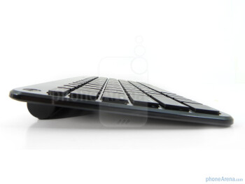 The Motorola XOOM Bluetooth Keyboard is fairly streamlined and compact all around - Motorola XOOM Bluetooth Keyboard Review