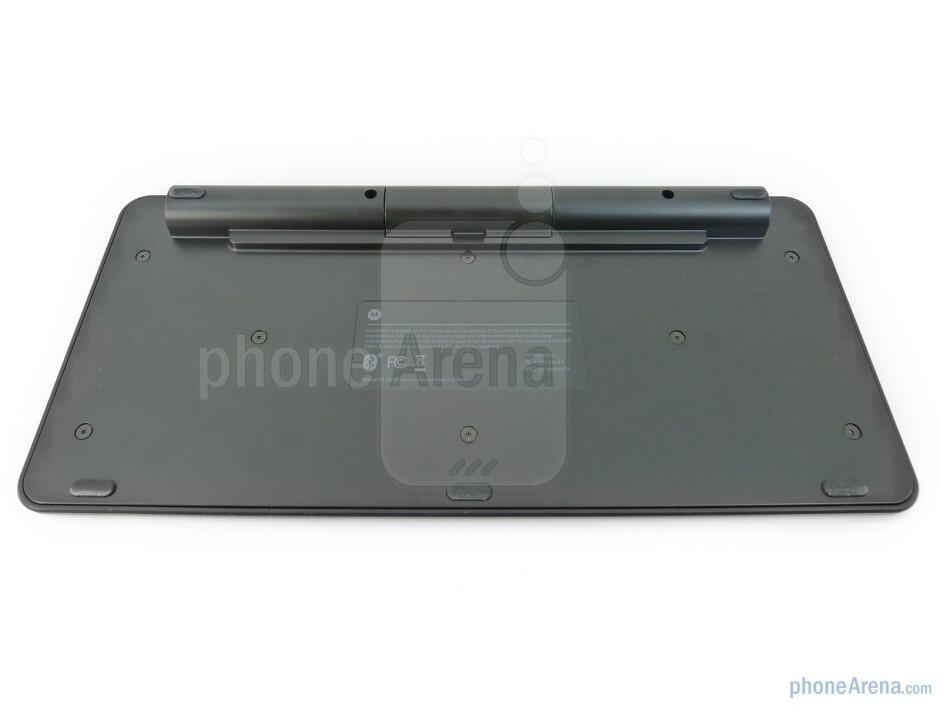 The Motorola XOOM Bluetooth Keyboard is fairly streamlined and compact all around - Motorola XOOM Bluetooth Keyboard Review