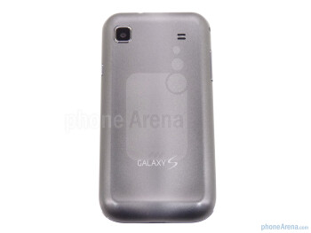 The back side of the phone - Samsung Galaxy S 4G Review