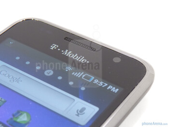 The front facing camera - Samsung Galaxy S 4G Review