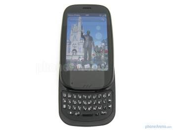 The 4-row QWERTY keyboard of the Palm Pre 2 - Verizon Pre 2 Review